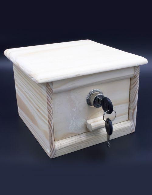 Joyero de madera hecho a mano. Decóralo a tu gusto. -imagen-principal