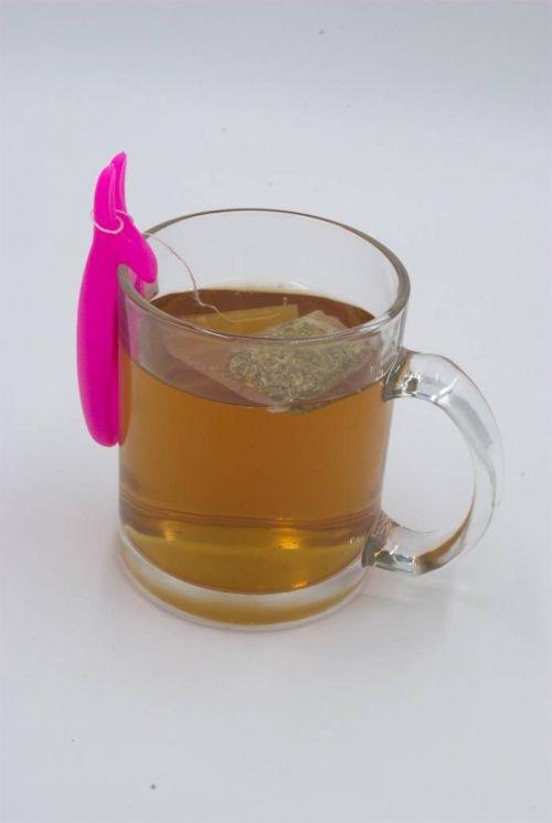 Reposa bolsas de té en forma de conejo.-imagen-principal
