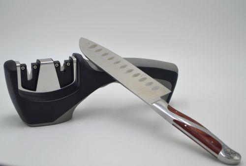 Afilador de cuchillos de doble función. Importado de USA. Envío gratis. -portada