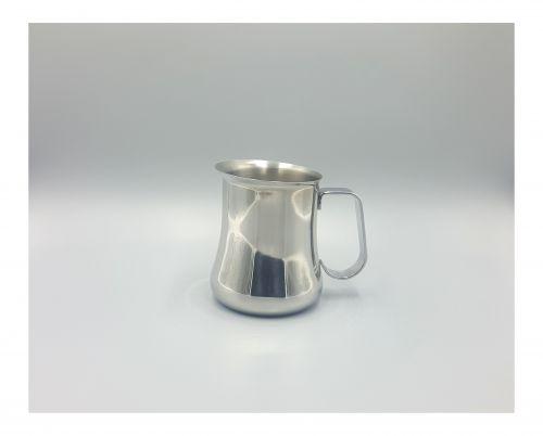 Elegante y exclusiva jarra de acero inoxidable para servir o espumar leche. Importado de USA. Envío gratis.-portada