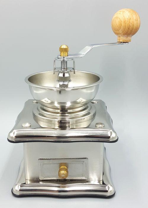 Práctico y elegante molino para especias, café y granos tostados. Importado de USA. Envío gratis. -portada