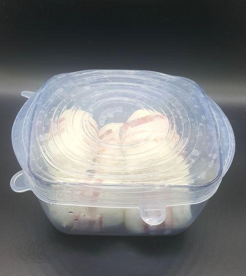 Tirar o no tirar mis recipientes de plástico..... con estas tapas elásticas jamas volverás a enfrentarte a esta disyuntiva. -portada
