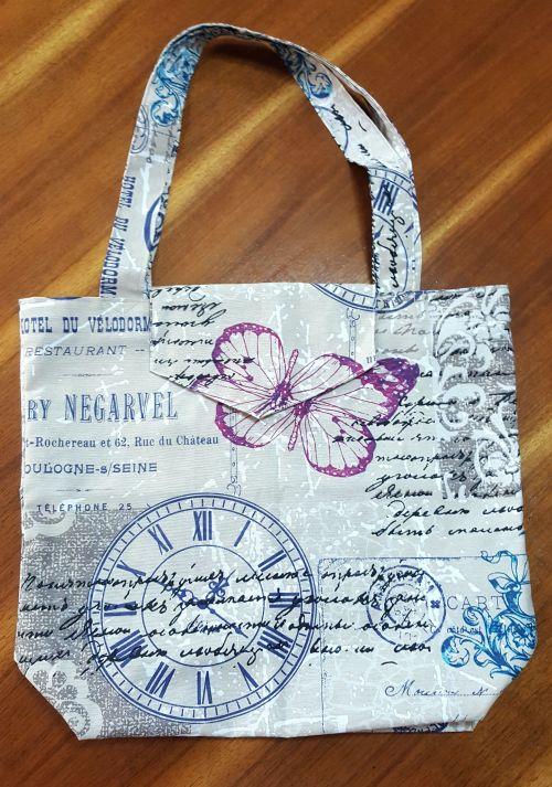 Bolsas de tela para que realices tus compras sin necesidad de usar bolsas de plástico. -portada
