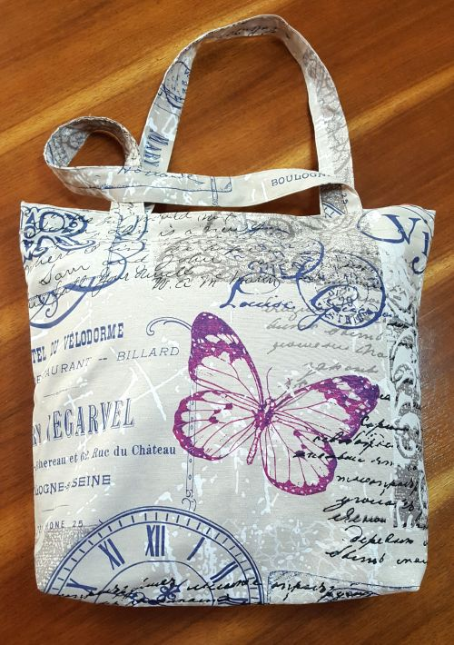 Bolsa de tela ideal para hacer tus compras y llevarla contigo a todos lados. -portada