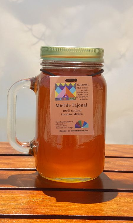 Miel pura de abeja. Floración Tajonal.-portada