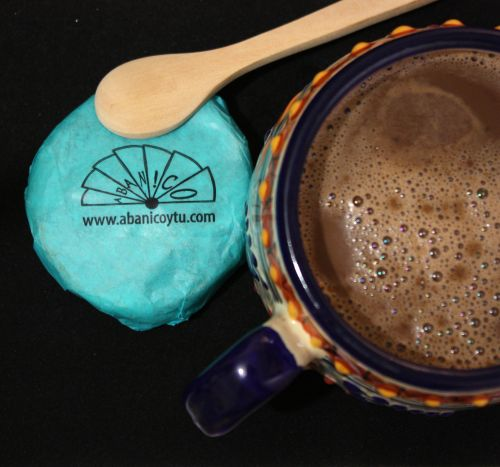 Chocolate artesanal oaxaqueño. Morral con 6 tablillas de 95 gms. -imagen-principal